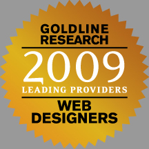 Goldline Research 2009 Leading Providers in Web Design