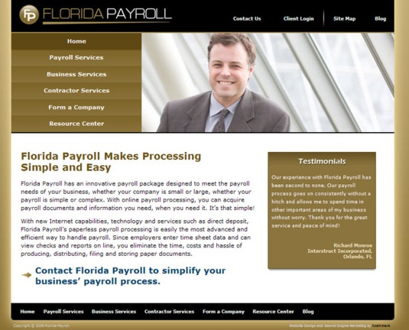Florida Payroll Launches a New Look