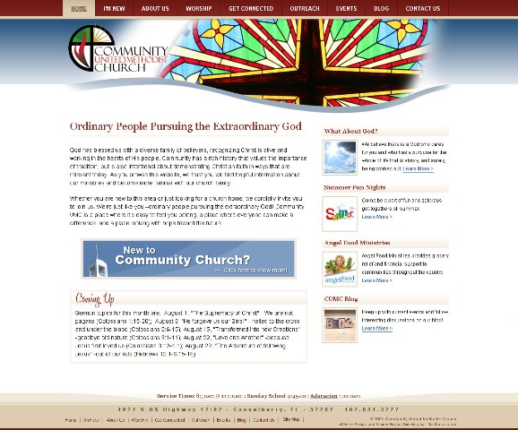 Casselberry Church Website