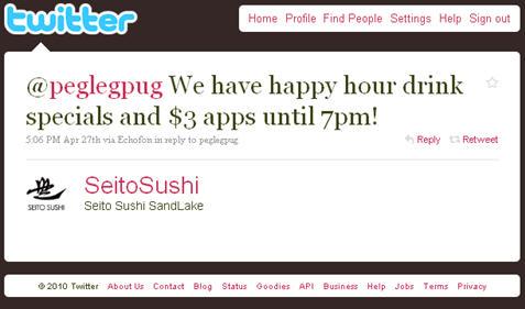 Seito Sushi on Twitter