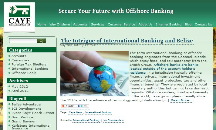 Offshore Banking Blog