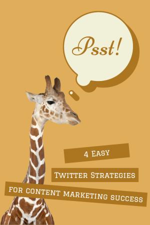 4 Easy Twitter Strategies