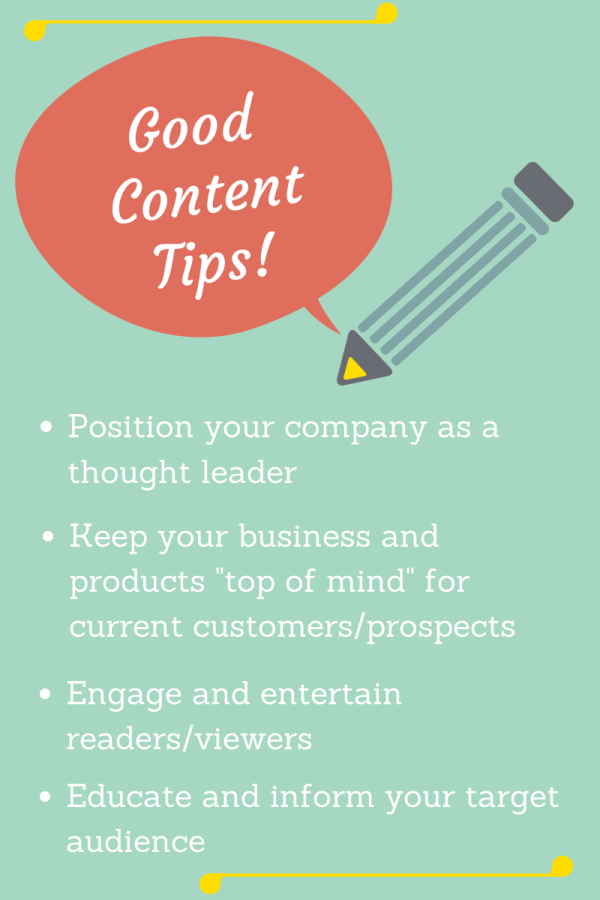 Good Content Tips