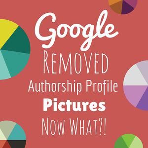 Google Authorship Changes