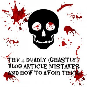 Deadly Blog Article Mistakes