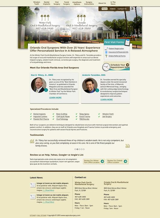 winter park oral surgery home page