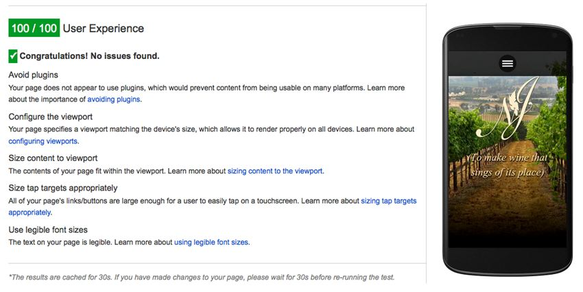 Example of Google Tools