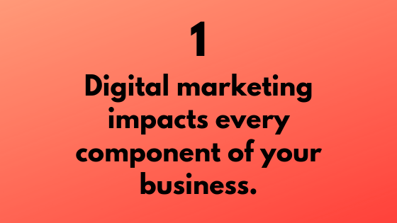 #1 - Digital Marketing Impacts Every Component of Your Business | Xcellimark Training