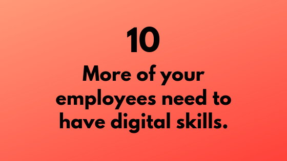 #10 - Employees Need to Have Digital Skills | Xcellimark Training
