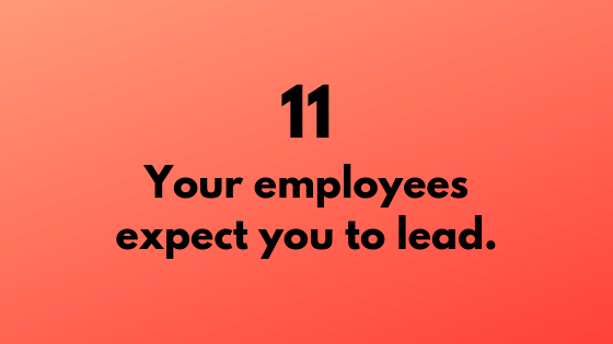 #11 - Employees Expect You to Lead | Xcellimark Training