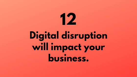 #12 - Digital Disruption will Impact Your Business | Xcellimark Training