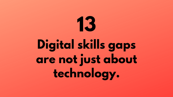 #13 - Digital Skills Gap is Not About Technology | Xcellimark Training