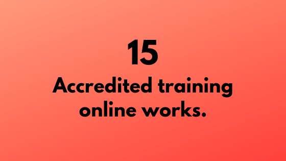 #15 -Accredited Training Online Works | Xcellimark Training