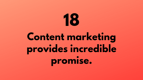 #18 - Content Marketing Provides Incredible Promise | Xcellimark Training