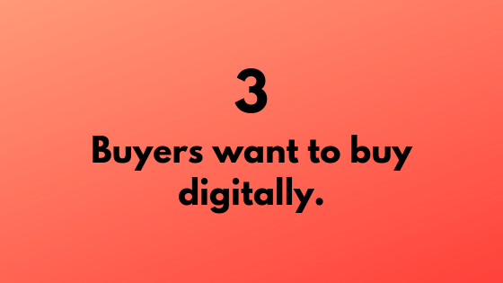 #3 - Buyers Want to Buy Digitally | Xcellimark Training