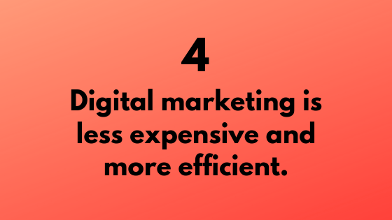 #4 - Digital Marketing is Less Expensive & More Efficient | Xcellimark Training