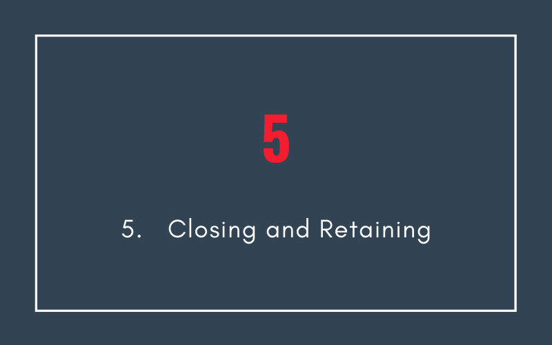 Closing Sales and Retaining Customers | Xcellimark Blog