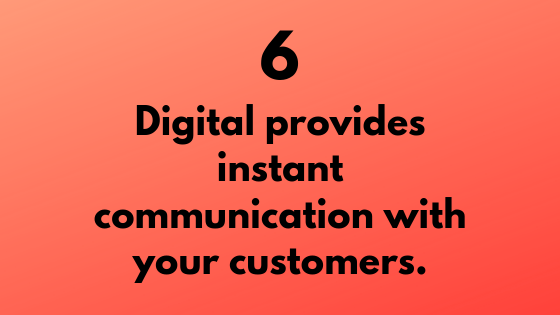 #6- Get Instant Communication with Customer Through Digital | Xcellimark Training