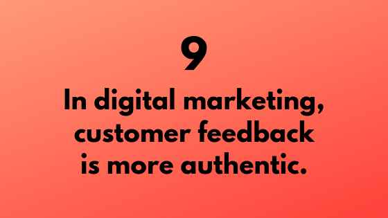 #9 - Digital Marketing Provides Authentic Customer Feedback | Xcellimark Training
