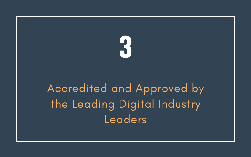 Accredited and Approved by the Leading Digital Industry Leaders | Xcellimark Training