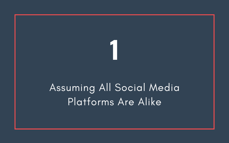 Mistake #1: Assuming All Social Media Platforms Are Alike | Xcellimark Blog