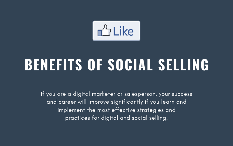 Benefits of Social Selling | Xcellimark Blog