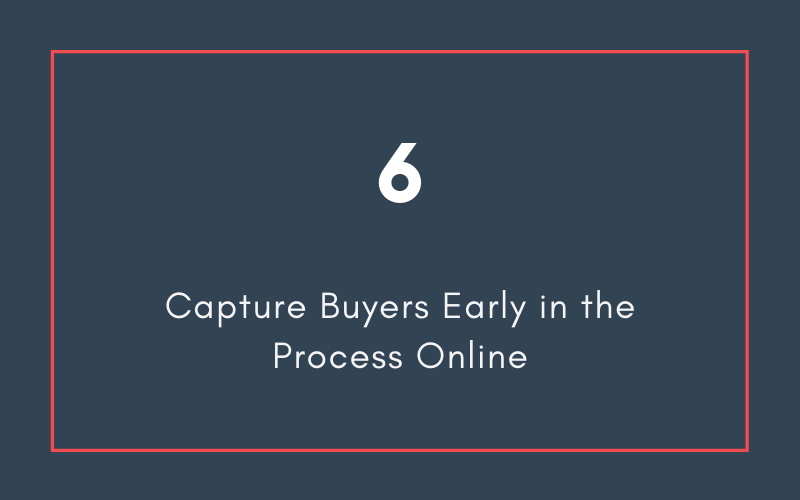 Capture Buyers Early in the Process Online | Xcellimark Blog