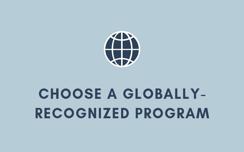 Choose a Globally-Recognized Program | Xcellimark Blog