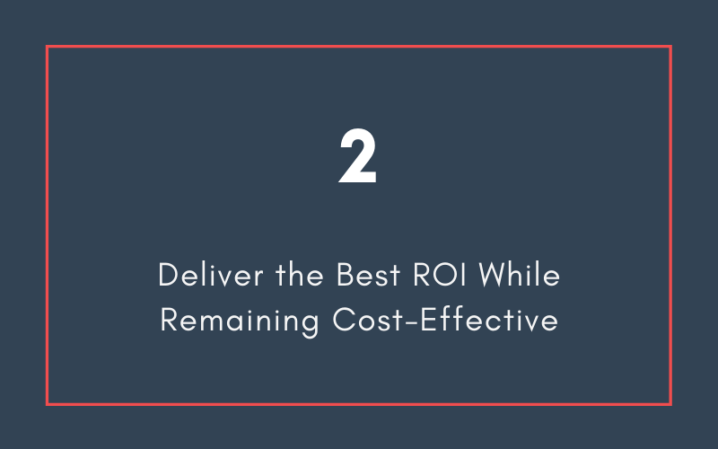 Deliver the Best ROI While Remaining Cost-Effective | Xcellimark Blog