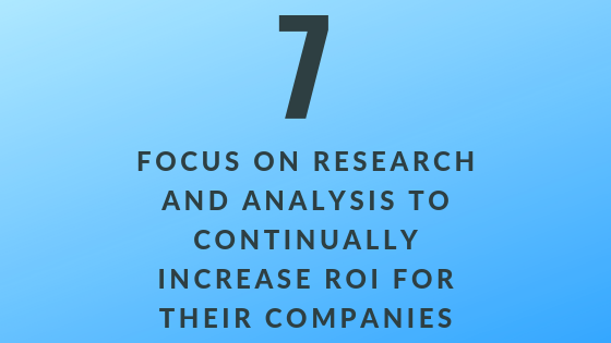 Focus on Research & Analysis to Increase Company ROI | Xcellimark Training