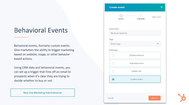 HubSpot Behavioral Events - Xcellimark Blog