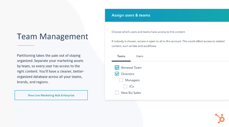 HubSpot Team Management Tools - Xcellimark Blog