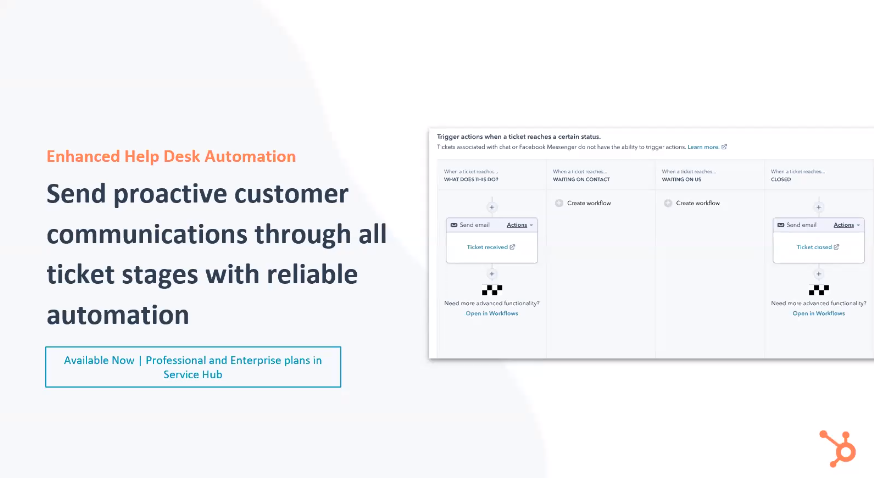 HubSpot Service Hub Enhanced Help Desk Automation - Xcellimark Blog