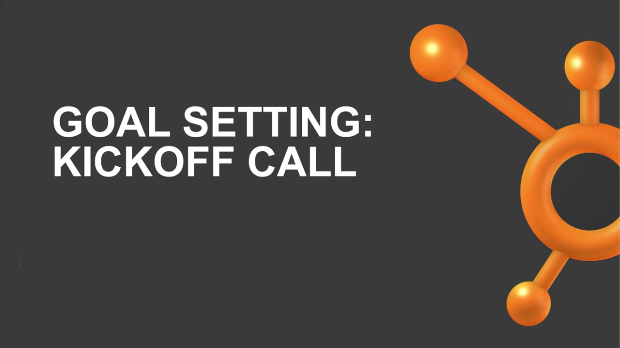 HubSpot Goal Setting Call