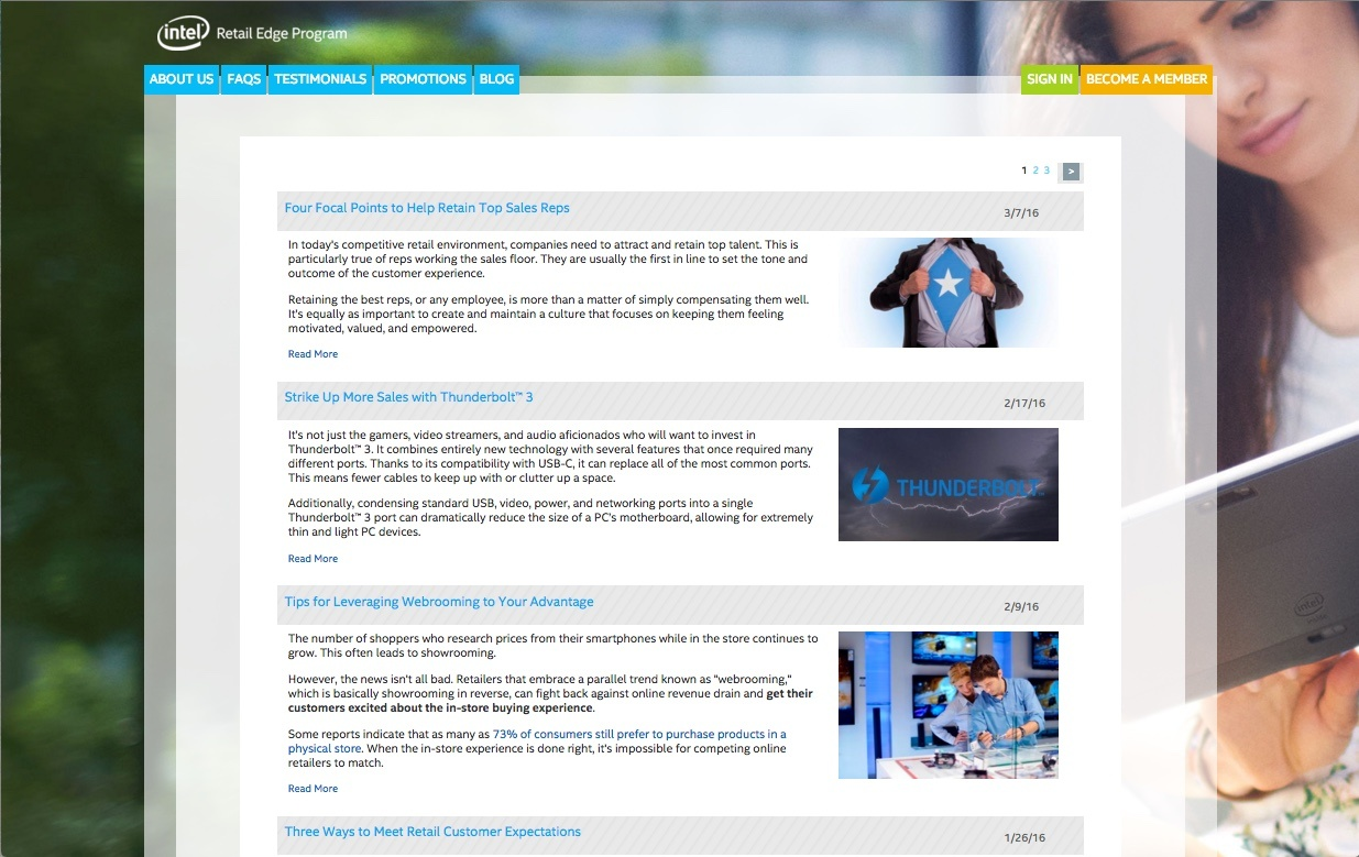 Intel® Retail Edge Program Blog