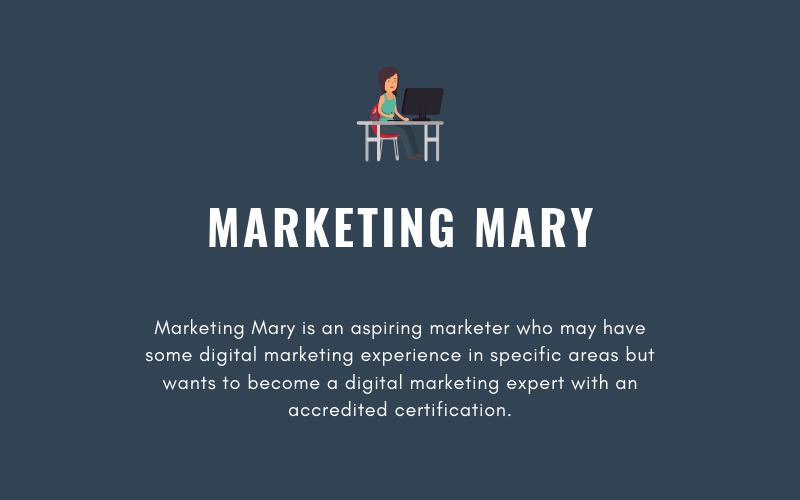 Marketing Mary Buyer Persona | Xcellimark Blog
