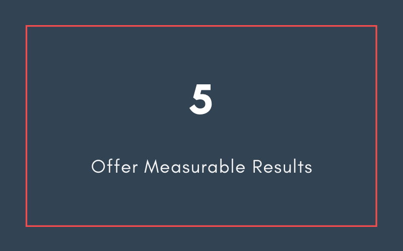 Offer Measurable Results | Xcellimark Blog