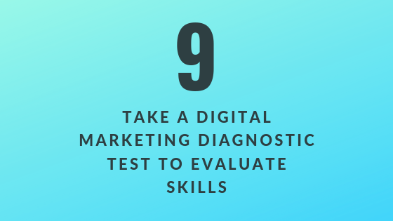 Take a Digital Marketing Diagnostic Test to Evaluate Skills