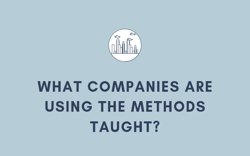 What Companies Are Using the Methods Taught? | Xcellimark Blog