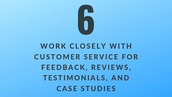 Work Closely with Customer Service   Xcellimark Training