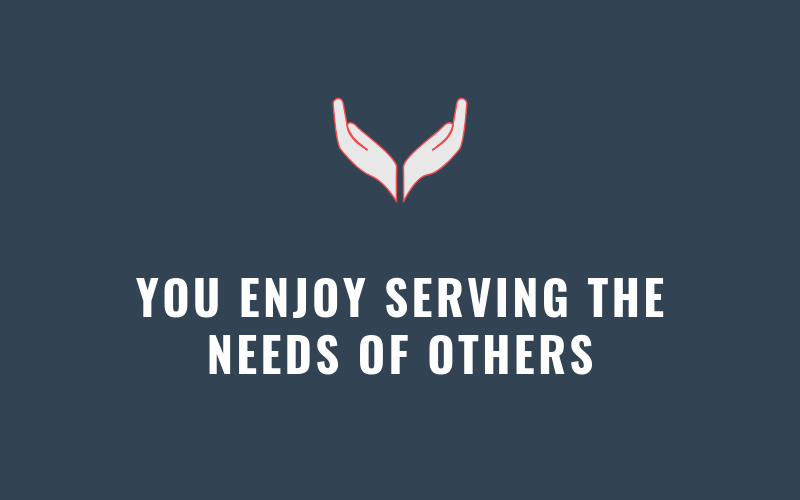 You Enjoy Serving the Needs of Others | Xcellimark Blog