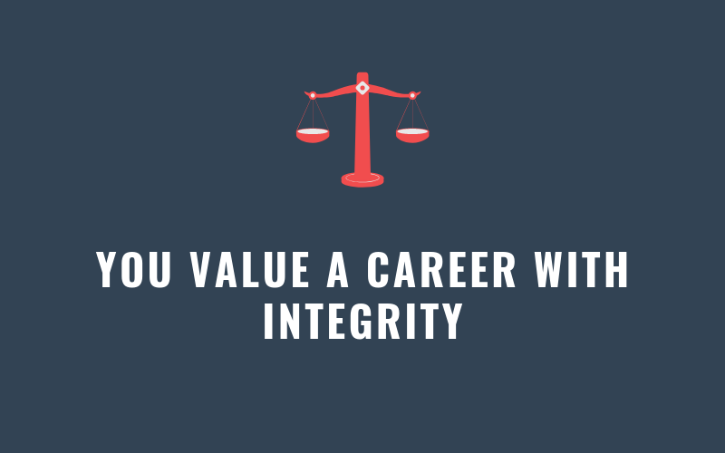 You Value a Career with Integrity | Xcellimark Blog