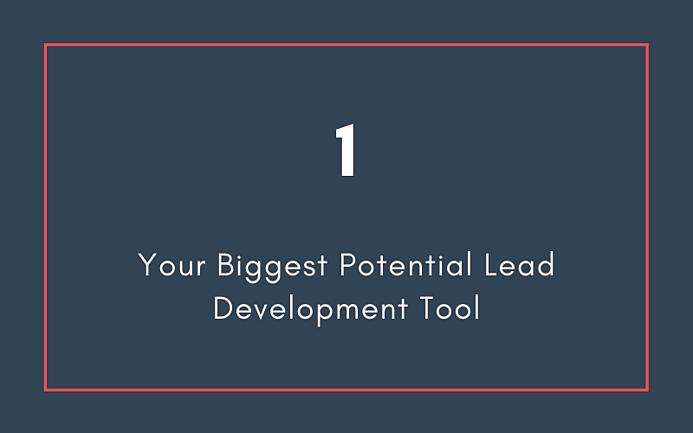 Your Biggest Potential Lead Development Tool | Xcellimark Blog