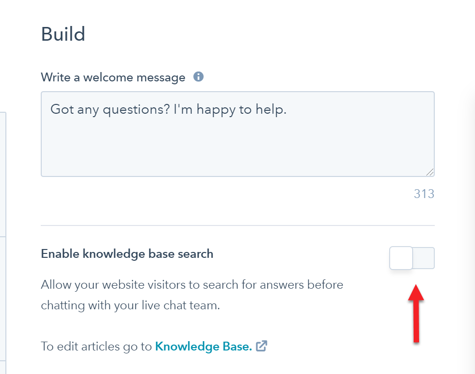 Chat + Knowledge Base in HubSpot