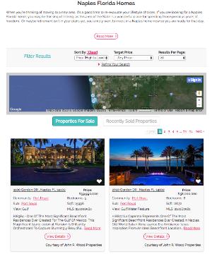 Custom Real Estate Marketing Website System