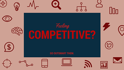 Feeling Competitive? Here's how to crush your competition with epic blog content...