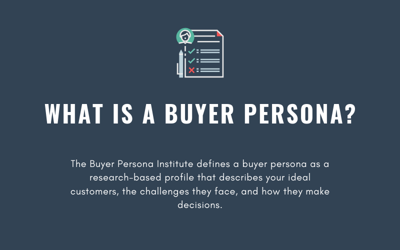What is a Buyer Persona | Xcellimark Blog