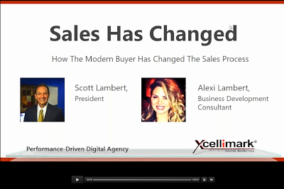 Watch Recording of Webinar - Sales Has Changed