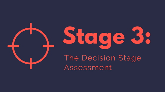 Buyer Stage #3 - The Decision Stage Assessment | Xcellimark