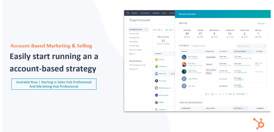 HubSpot Account-Based Marketing and Selling Tools - Xcellimark Blog